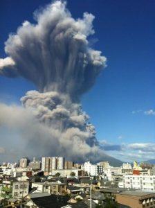 約3年前の噴火