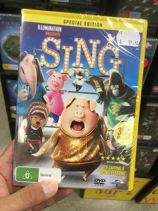 映画『SING・シング』のDVD発売!買いそうになったけどいつが予定日なの?8月2日に決定!