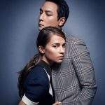 映画トゥームレイダー2018のダニエル・ウーとアリシアのツーショット画像